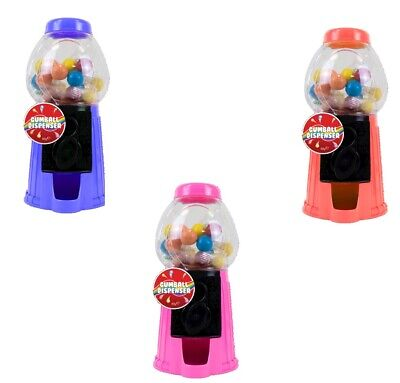 Bubble Gum Machine Slide Sweet Gumball Candy Dispenser Learning
