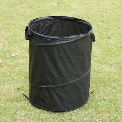 UK Collapsible Car Trash Can Pop-up Leak Proof Trash Bin Box Hanging Bag