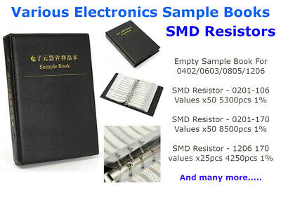 SMD Resistors Resistor Equipment Electronic Electronics Components Sample Books