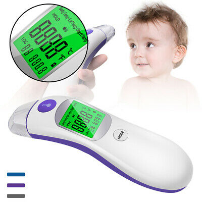 IR Infrared Digital Termometer Non-Contact Forehead Baby/Adult Body Thermom BN