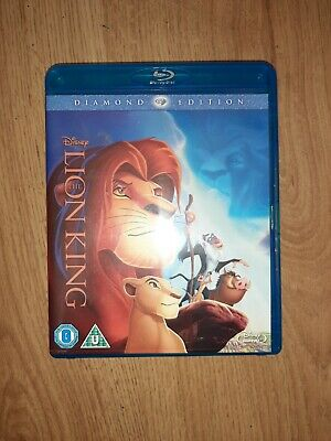 THE LION KING  (U) 2011 Diamond Edition Disney animated BLU RAY DVD REG ABC