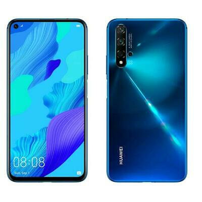 "Huawei Nova 5T 128 Gb Rom 6 Gb Ram Lte Dispaly 6.26"" Full Hd Blu Nero"