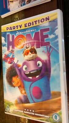 Home DVD (2015) Tim Johnson ,free postage uk, party edition.