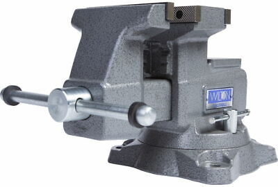 Wilton 28821 Reversible Bench Vise 5-1/2 Jaw Width with 360 Swivel Base