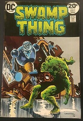 Swamp Thing. No. 6.  Bronze Age. 1973.  Clockwork Horror..wrightson Cover/Art.