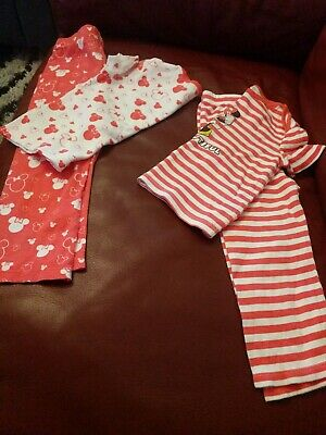 Set Of 2 Disney Girls Night Wear size 2-3years