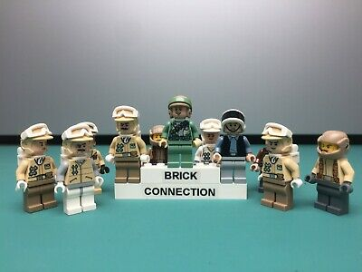 Authentic LEGO Star Wars Rebel Minifigures - Troopers, Officers, Hoth - YOU PICK