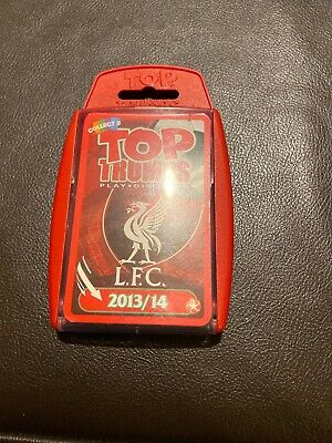 Winning Moves Top Trumps Liverpool FC 2013/14 Travel Card Game, Football