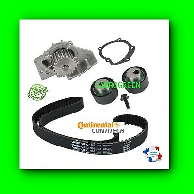 Kit Distribution+Pompe A Eau Peugeot 306 Diesel 1.9 Dw8