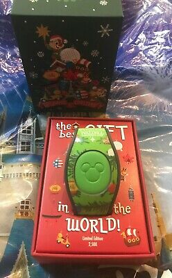 Disney Epcot Festival Of The Holidays 2019 Chip And Dale LE 2500 MagicBand New