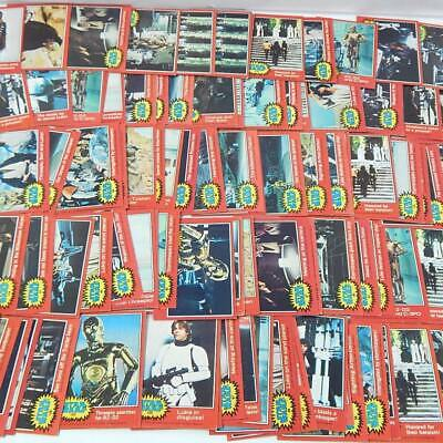 Star Wars 1977 Topps Cards Singles 2nd Series U-Pick NM $2 ea. FREE SHIPPING !!!