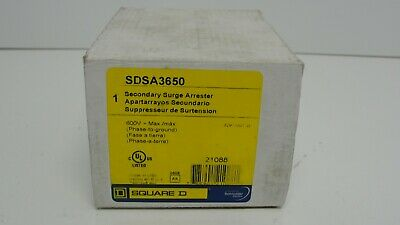 Square D SDSA3650 secondary surge arrester new