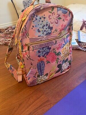 Ban.do Get It Together Backpack - New! Garden Pink Print