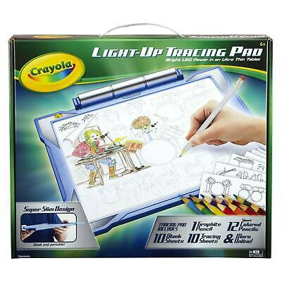 Crayola 04-0907 Light-up Tracing Pad Coloring Board - Blue
