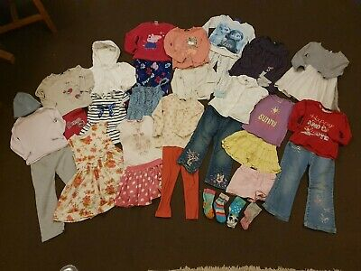 Large Girls 3-4 Designer Clothing Bundle. Inc Next, Junior J, Peppa Pig, Frozen