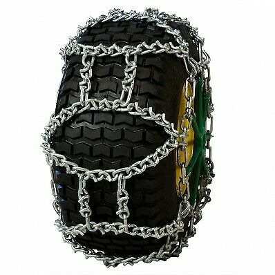 Hp1757V Small Tractor/Snow Blower Nordic H Pattern Vbar Alloy Tire Chain