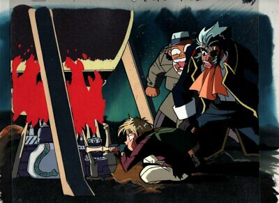 Hakugei Legend of Moby Dick original Japanese animation cel w/OBG 246