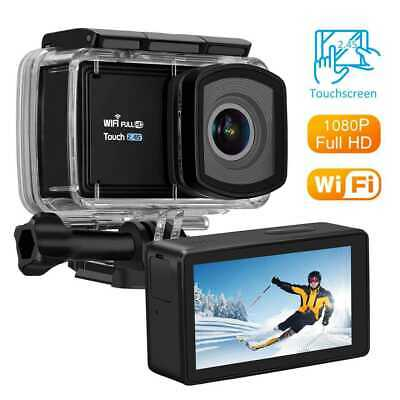 NEW Action Camera 1080P WiFi Camcorder Waterproof DV Sports Cam Underwater