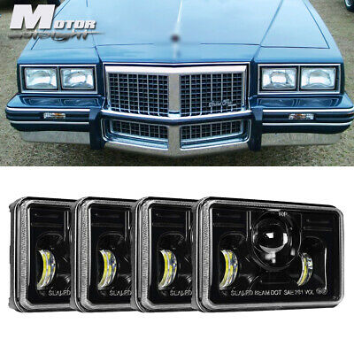 """4x6"""" LED Headlights Headlamp Projector Assembly Sealed For Pontiac Grand Prix"""
