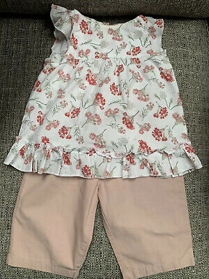Girls Top And Trouser Set Vertbaudet Age 18 Months