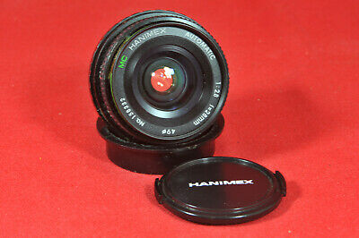Hanimex f2.8 28mm Lens Pentax K Fit