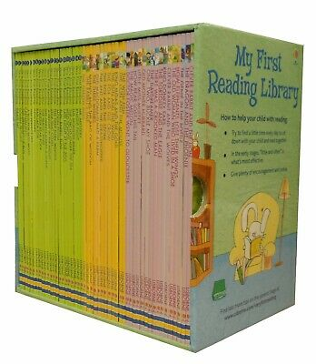 Usborne My First Reading Library 50 Books Set - Early Readers Learn to Read