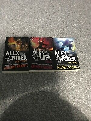 Alex Rider Books 4,5 And 6 Anthony Horowitz Young Spy Children Novel