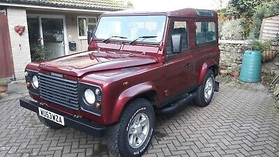 land rover defender 90 td5 station wagon 2003