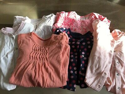 Massive Bundle Of Girls 6-9 Months Clothes From Next M&S And Boots