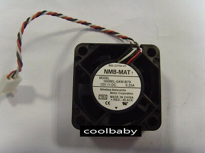 for NMB 1608KL-01W-B39 5V 0.22A 404020MM 3-Wire Cooling Fan