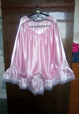 Satin Vintage Style Petticoat,plus satin bloomers to match,size XL , other sizes