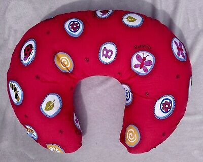 Nursing Breastfeeding PHP Widgey Support Pillow Red Bumble Bee/Lady bird