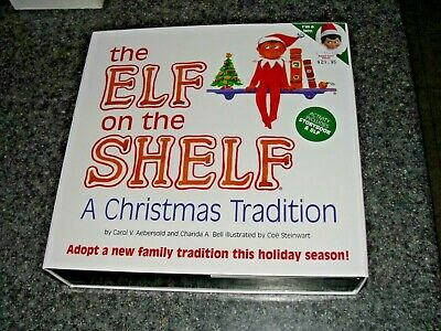 The Elf on The Shelf (GIRL) A Christmas Tradition (Blue-Eyed Girl Elf) w/BOOK