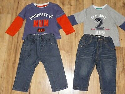 Boys Next. Mothercare trousers and tops size 9-12 months