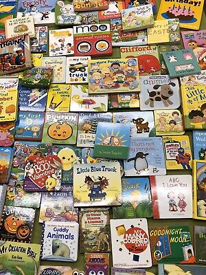 Lot of 10 Board Books for Young Children Toddlers Babies, Preschool And Daycare