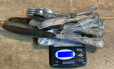 Sterling Silver Use Or scrap Marked Sterling 380.0g