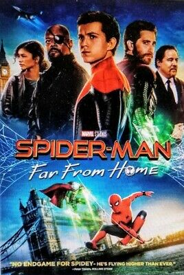 Read Below Spiderman Far From Home Hd Digital And Free Used Dvd Disc Only