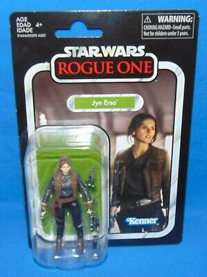 """Star Wars JYN ERSO Rogue One *MINT* 2017 3.75"""" Kenner Vintage VC119"""