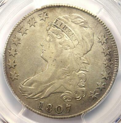 1807 Capped Bust Half Dollar 50C Coin O-112 - Certified PCGS VF Details!