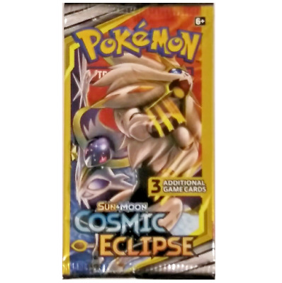 Pokemon TCG: Sun & Moon Cosmic Eclipse Booster Pack - 3 Card Pack