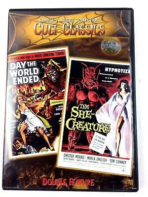 DVD Samuel Arkoff Horror Film Cult Classics The Day the World Ended She Creature