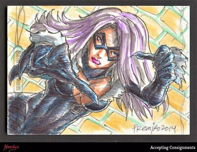 2014 Marvel Masterpieces Sketches Jun Premiro 1/1  ONE OF ONE SKETCH CARD