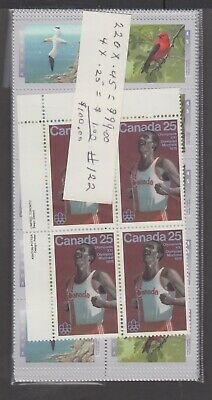 Canada Mint Postage Lot $100.00 Mnh Face For $70.00 See List #122
