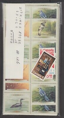 Canada Mint Postage Lot $100.00 Mnh Face For $70.00 See List #126