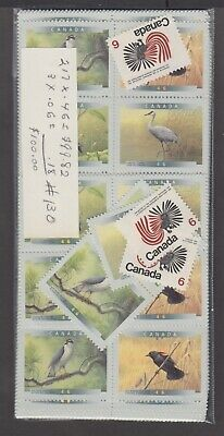 Canada Mint Postage Lot $100.00 Mnh Face For $70.00 See List #130
