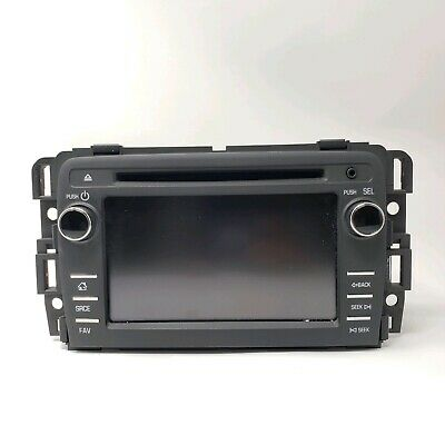 Oem 2015 Chevy Traverse Radio Receiver Cd Player Model 23459482