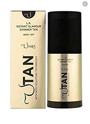 Utimo Tan Instant Glamour Shimmer Tan 150ml - Boxed