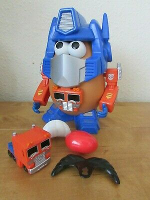 Fab Playskool Transformer Transformers Optimus Prime Mr Potato Head Toy