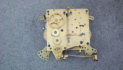 Antique westminster chime clock movement