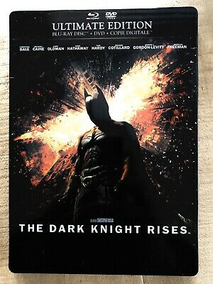Blu ray The Dark Knight Rises STEELBOOK COLLECTOR fr